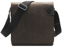 "Strellson ""Richmond"" ShoulderBag groß echt Leder braun"