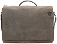 "Strellson ""Richmond"" Briefbag echt Leder dark brown"