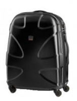 Titan 'X2 Shark Skin 360°Four' 4-Rad Trolley 71cm mit TSA-Schloss 3,3kg 87l Polycarbonat black shark
