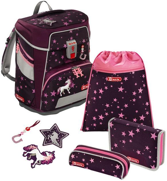 Step by Step 'Unicorn' Space Schulrucksack-Set 5tlg.