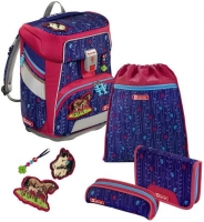 "Step by Step ""Lucky Horses"" Space Schulrucksack-Set 5tlg."