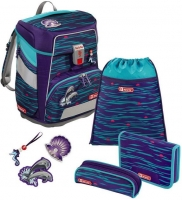 "Step by Step ""Happy Dolphins"" Space Schulrucksack-Set 5tlg."