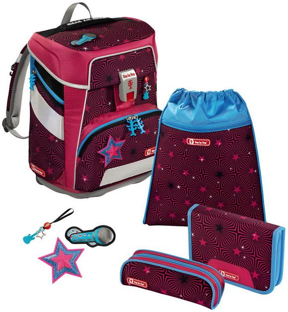 Step by Step 'Popstar' Space Schulrucksack-Set 5tlg.