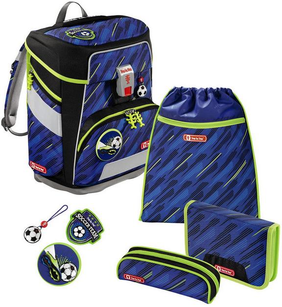 Step by Step 'Soccer Team' Space Schulrucksack-Set 5tlg.