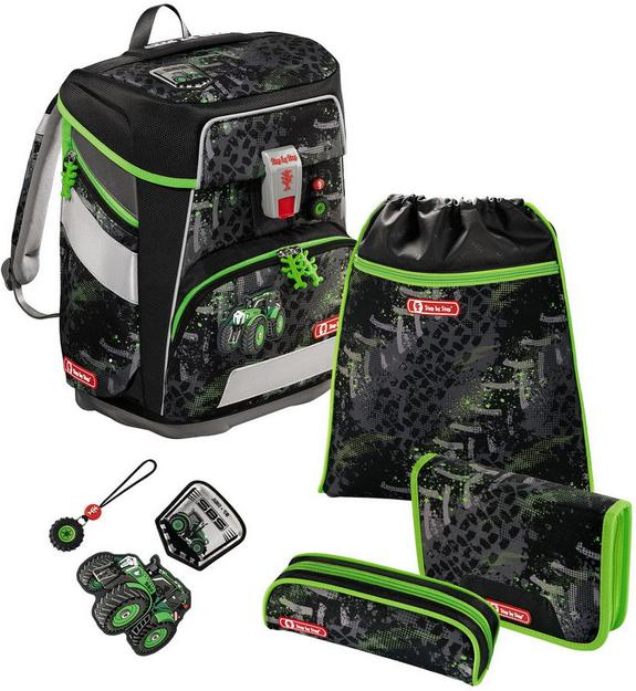 Step by Step 'Green Tractor' Space Schulrucksack-Set 5tlg.