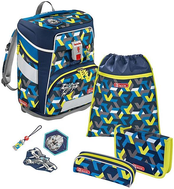 Step by Step 'Space Pirate' Space Schulrucksack-Set 5tlg.