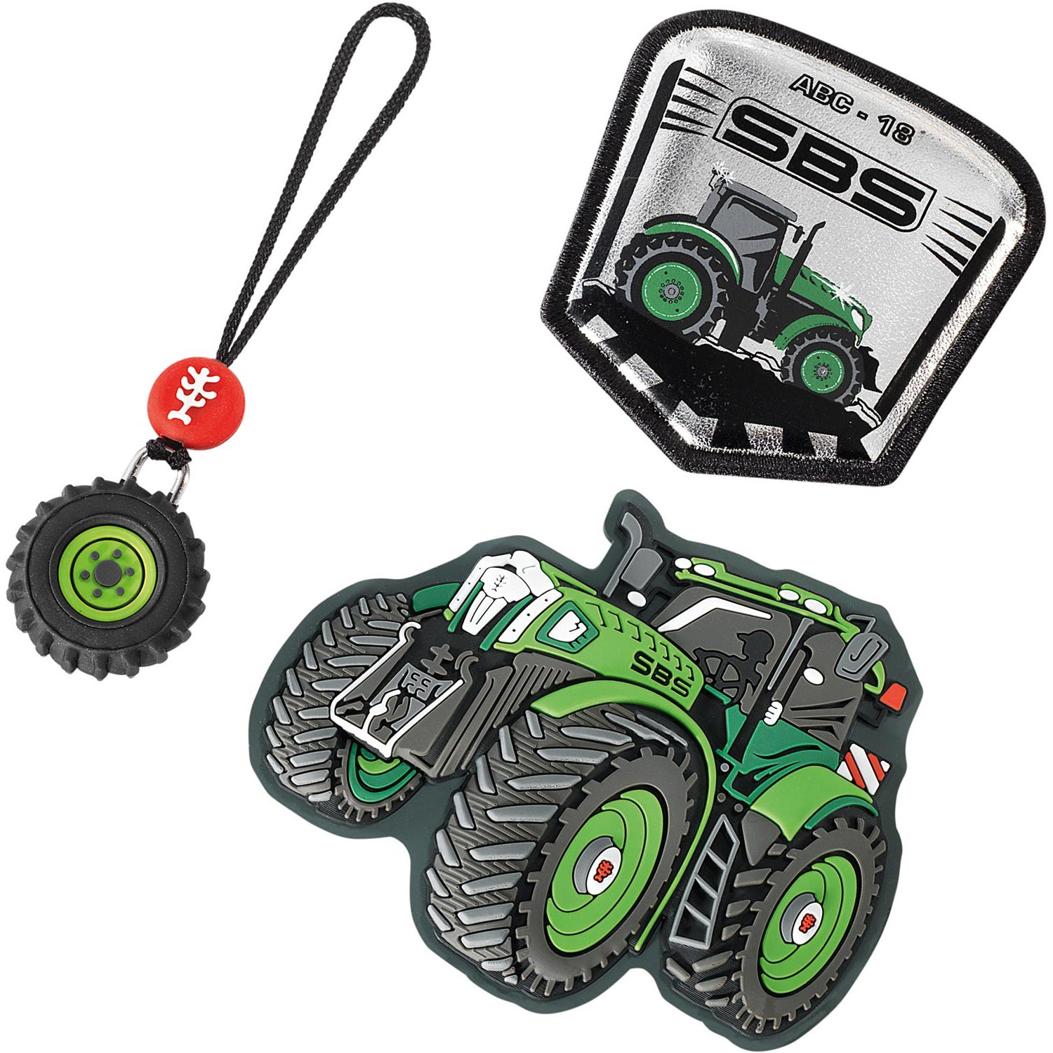 Step by Step 'Magic Mags' Wechselmotive für Green Tractor