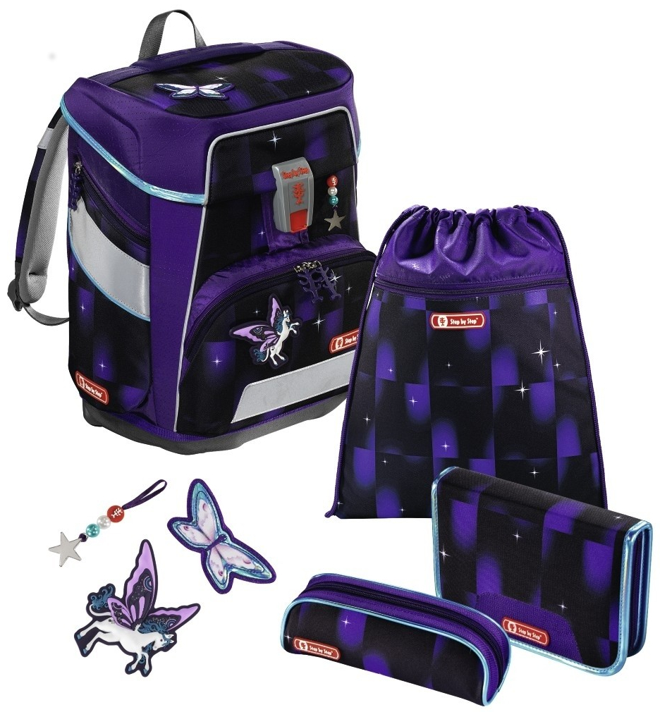 Step by Step 'Pegasus Dream' Space Schulrucksack-Set 5tlg.