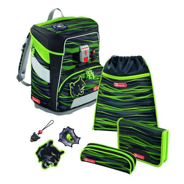 Step by Step 'Wild Cat' Space Schulrucksack-Set 5tlg.