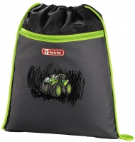"Step by Step ""Green Tractor"" 2in1 Schultaschenset 4tlg"