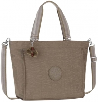"Kipling ""New Shopper L"" Tote Festival Ewo Shopper soft earthy C"