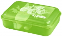 "Step by Step ""Green Tractor"" Lunchbox mit herausnehmbarer Trennwand 0,9l"