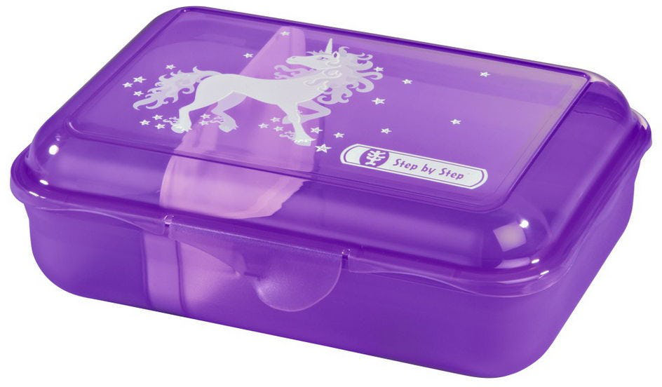 Step by Step 'Unicorn' Lunchbox mit herausnehmbarer Trennwand 0,9l