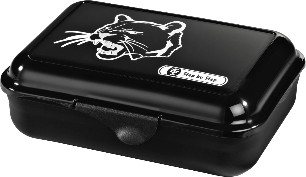 Step by Step 'Wild Cat' Lunchbox mit herausnehmbarer Trennwand 0,9l