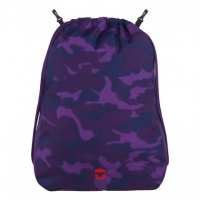 Take it Easy 'Camouflage Purple' Clip-Schubeutel 10l lila