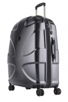 Titan 'X2 Shark Skin 360°Four' 4-Rad Trolley 71cm mit TSA-Schloss 87l 3,3kgPolycarbonat gun metal shark