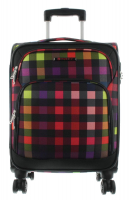 Franky Trolley S 55cm 2,6kg  39L multicolor check