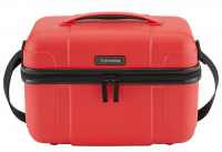 Travelite Beautycase Hartschale rot