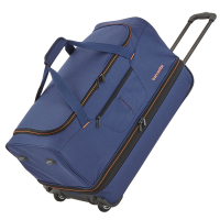 "Travelite ""Basics"" Trolley RT 70cm 2,8kg 98/119l marine/orange"