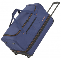 "Travelite ""Basics"" Trolley RT 55cm 2,3kg 51/64l marine/orange"