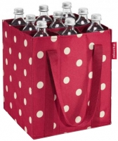 "Reisenthel ""Bottlebag"" Flaschentasche ruby dots"