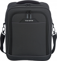 Travelite 'Derby' Bordtasche Hochformat 0,5kg 18l anthrazit