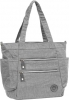 "New-Rebels ""Crincle"" Shopper grey"