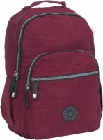 "New-Rebels ""Crincle"" Rucksack burgundy"