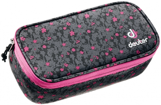 Deuter 'Pencil Case' black flora
