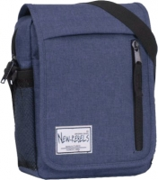 "New-Rebels ""Basic plus"" Umhängetasche klein blau"