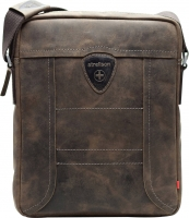 "Strellson ""Hunter"" ShoulderBag SVZ echt Leder dark brown"
