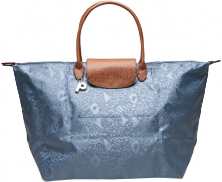 "Picard ""Easy"" Shopper faltbar Nylon bleu"