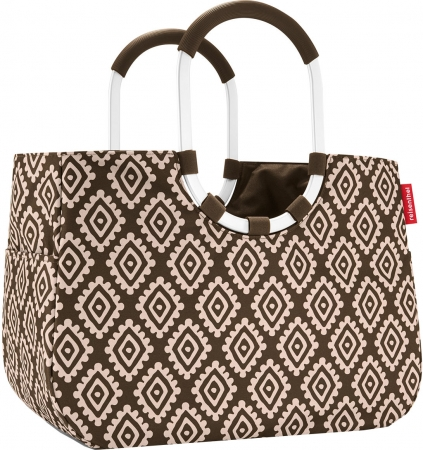 "Reisenthel ""Loopshopper L"" Shopper mit Alugriffen diamonds mocka"