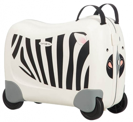 "Samsonite ""Dreamrider"" Kindertrolley Zebra Z."