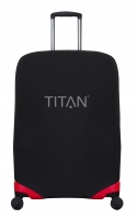 "Titan ""Luggage Cover"" M+ für Trolley 71cm in schwarz"