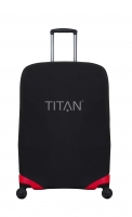 "Titan ""Luggage Cover"" S für Trolley 56cm in schwarz"