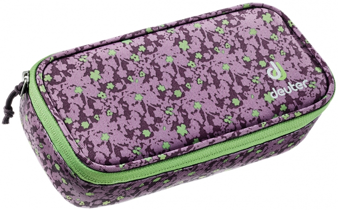 Deuter 'Pencil Case' plum flora