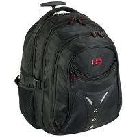 New-Rebels Basic Rucksack- Trolley Spinnstoff schwarz