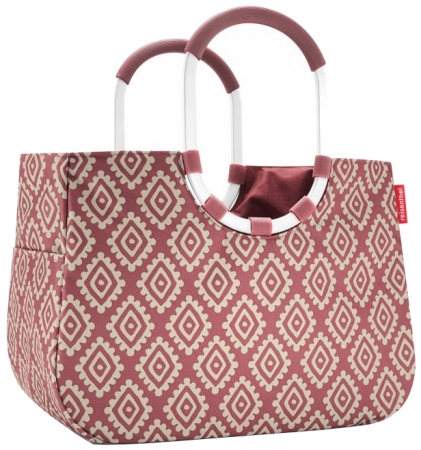 "Reisenthel ""Loopshopper L"" diamonds rouge"