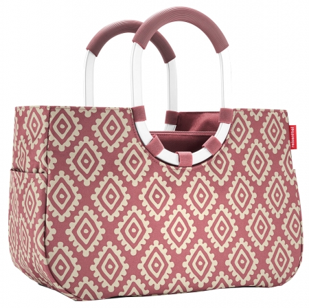 "Reisenthel ""Loopshopper M"" diamonds rouge"