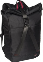 "New Rebels ""Cross"" Roll top Rucksack schwarz"
