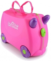 "Trunki ""Trixie Pink"" Ride-on suitcase Kindertrolley pink"