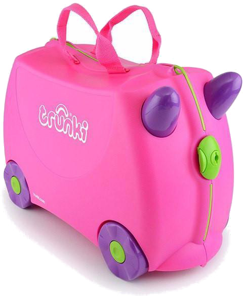 Trunki 'Trixie Pink' Ride-on suitcase Kindertrolley pink