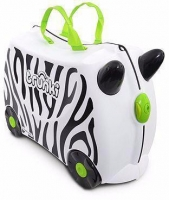 "Trunki ""Zimba Zebra"" Ride-on suitcase Kindertrolley"