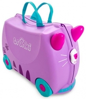Trunki 'Cassie Cat' Ride-on suitcase Kindertrolley