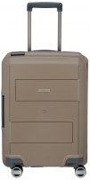 Travelite 'Makro' 4-Rad Bordtrolley 55 cm 3,1kg 39l taupe