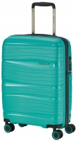 Travelite 'Motion' 4-Rad Bordtrolley 55cm Polypropylen 2,0kg 37l minze