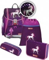 "Step by Step ""Unicorn"" Touch 2 Flash Schulranzenset 4tlg"