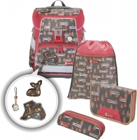 Step by Step 'Modern Deer' Space Schulrucksack-Set 5tlg.