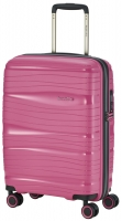 Travelite 'Motion' 4-Rad Bordtrolley 55cm Polypropylen 2,0kg 37l bonbon